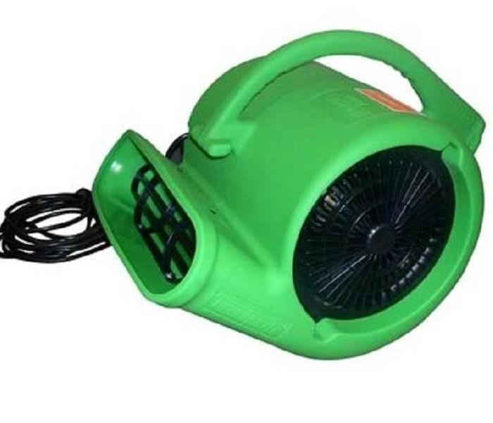Powerful Air Movers Help Drying Process